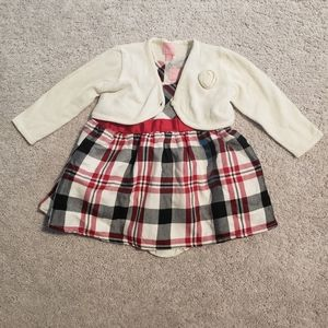 Baby Girls TCP Dress/Cardigan Bundle